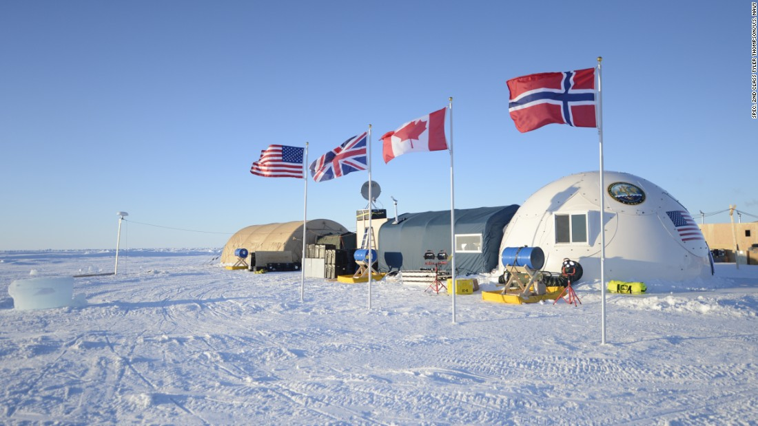 Ice Camp Sargo, located in the Arctic Circle, serves as the main stage for Ice Exercise (ICEX) 2016 and will house more than 200 participants from four nations over the course of the exercise.