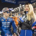 Moto GP: Vinales of Suzuki on the grid Qatar