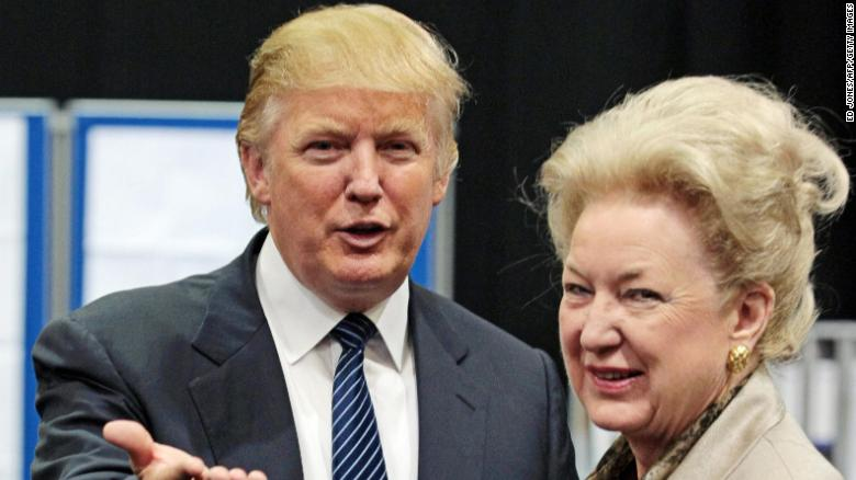 Trump's sister retires to avoid fraud investigation