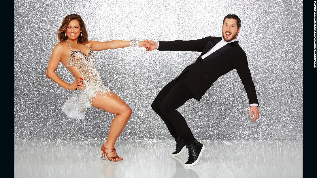 ABC News chief meteorologist Ginger Zee, who was paired with pro dancer Valentin Chmerkovskiy, got a serious workout. Chmerkovskiy won season 20 with Rumer Willis. They made it to the finals.