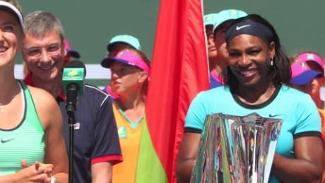Serena Williams slams tournament director's comments