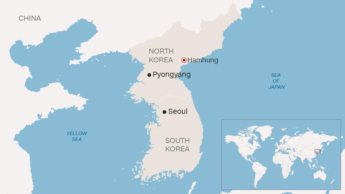 North Korea fires short-range projectiles, South Korea says