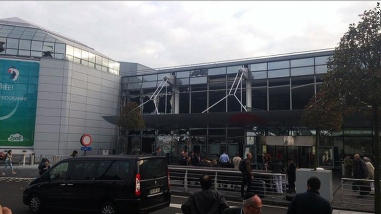Brussels airport rocked by explosions