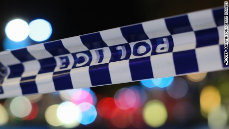 Australian police arrested the pair in Guildford, a western suburb of Sydney.