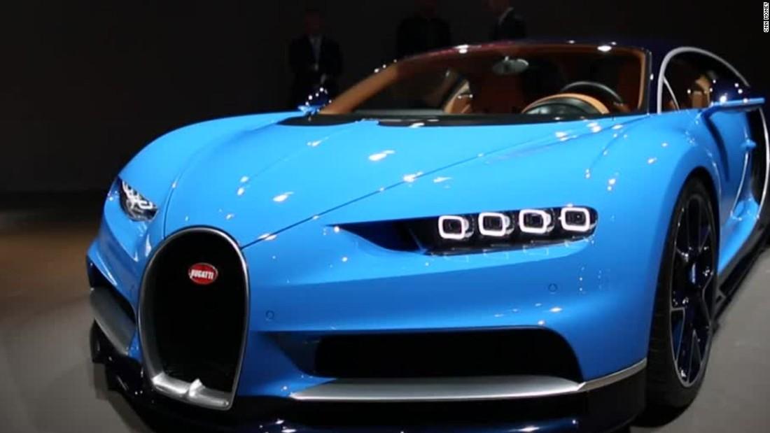 $2.5 million Bugatti will go 261 mph
