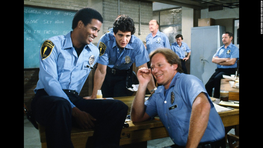 "<strong>'Hill Street Blues':</strong> When this gritty, realistic police drama debuted on NBC in 1981, it was unlike anything else on American television. The creators of ""The Sopranos,"" ""Breaking Bad,"" and ""Mad Men"" all owe thank-you notes to ""Hill Street"" creator Steven Bochco, <a href=""http://www.cnn.com/2014/04/29/showbiz/tv/hill-street-blues-oral-history/"" target=""_blank"">said </a>Syracuse University pop culture professor Robert Thompson. The show, which ran until 1987, was a mix of drama and comedy with diverse, colorful three-dimensional characters."