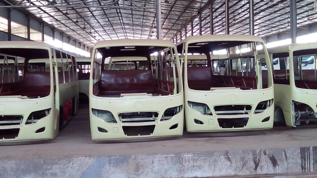 There are plans to scale up capacity to 50,000 vehicles a year, including low-cost options, as Nigeria seeks to promote domestic manufacturing.