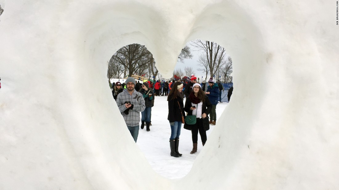 Locals and visitors around the world love the annual Loppet.