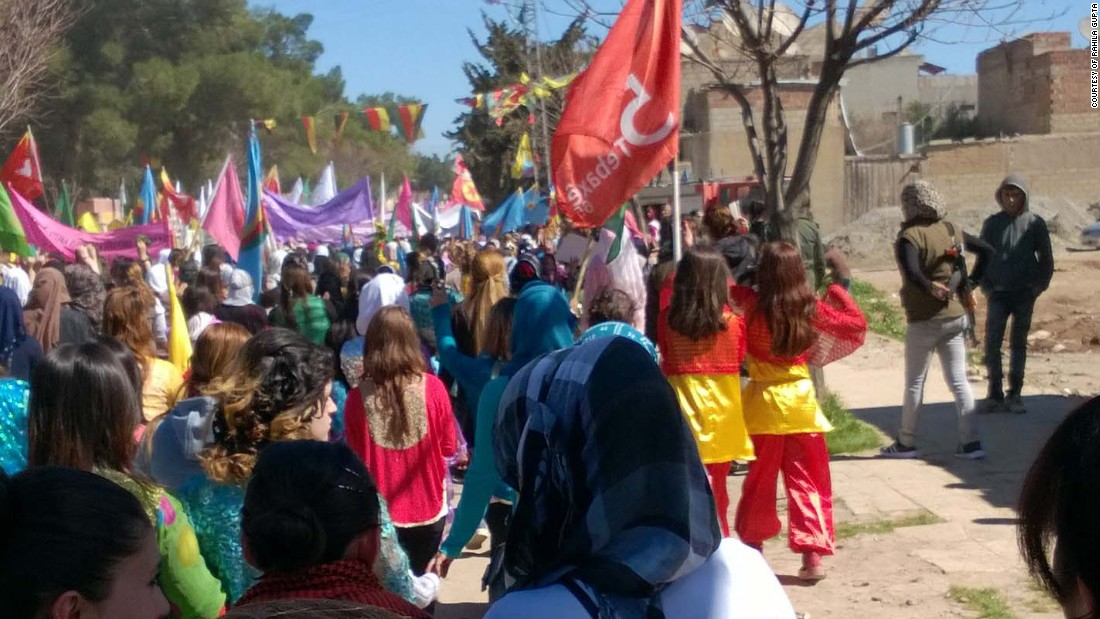 Women have had an important role in driving change in Rojava.