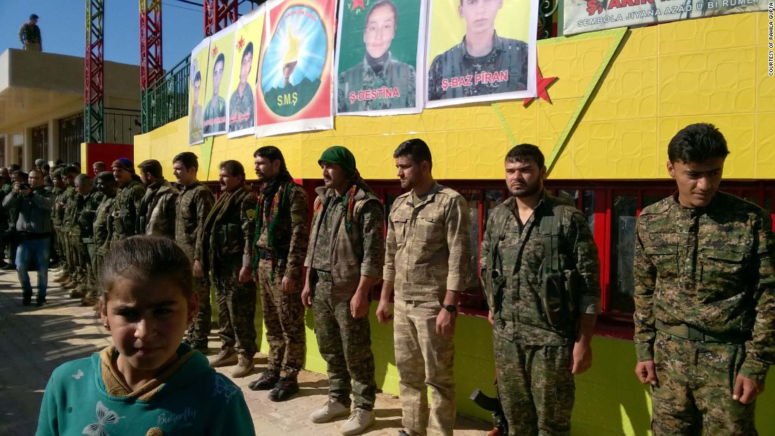 """For the U.S., the Kurds of Rojava are the only reliable, effective fighting force against ISIS on the ground."" - Rahila Gupta"