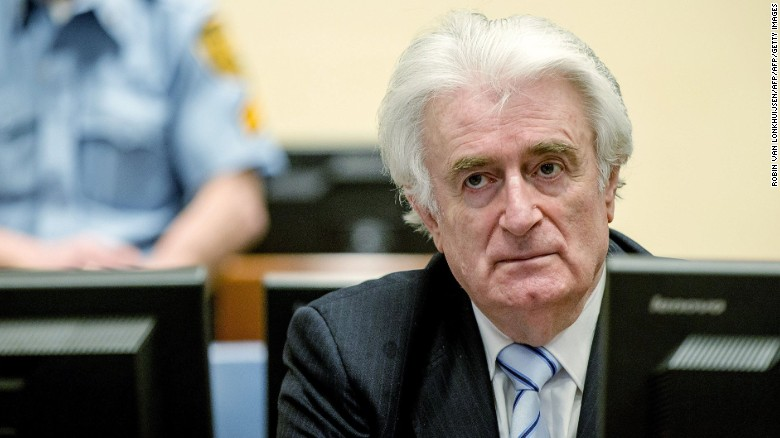 'Butcher of Bosnia' Radovan Karadzic found guilty