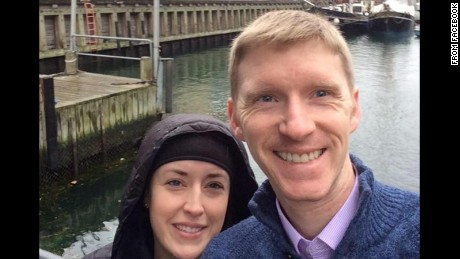 Stephanie and Justin Shults have both been working in Brussels.