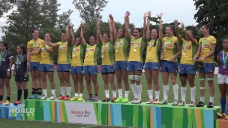 Rio stages rugby sevens Olympic trial