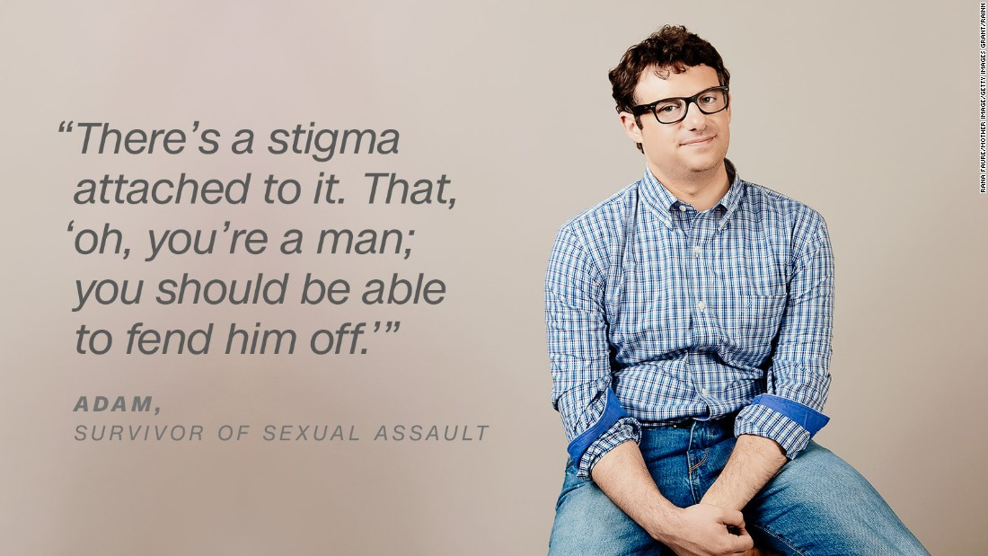 What it's like to be a male survivor of sexual assault