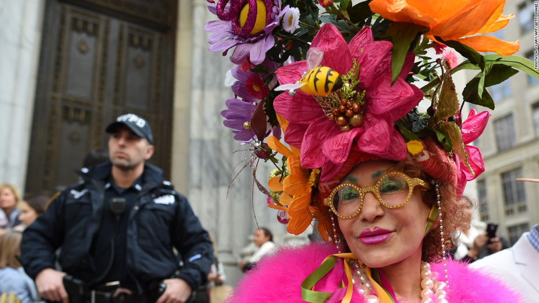 The Easter Parade is a New York tradition that dates back to the middle of the 1800s. The social elite would attend services at one of the Fifth Avenue churches and parade their new fashions down the avenue afterward.