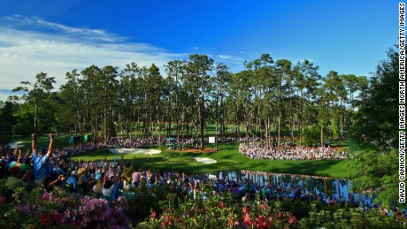 "Augusta is known for the roars of the ""patrons"", especially on the final Sunday."