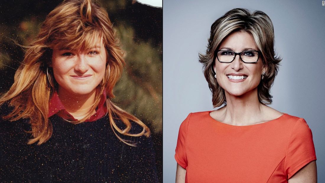 "Here is Ashleigh Banfield just prior to her graduation from Queens University in Kingston, Ontario. The ""Legal View"" host said, ""The hair was cut off the following year, at the start of my broadcast career!"" Nearly four decades since this 1988 photo, Banfield's tresses have never looked better!"