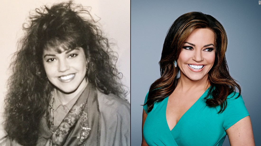 The typical '80s hair was not reserved for rock bands! HLN's Robin Meade displays the iconic 'do that served as the decade's signature style.