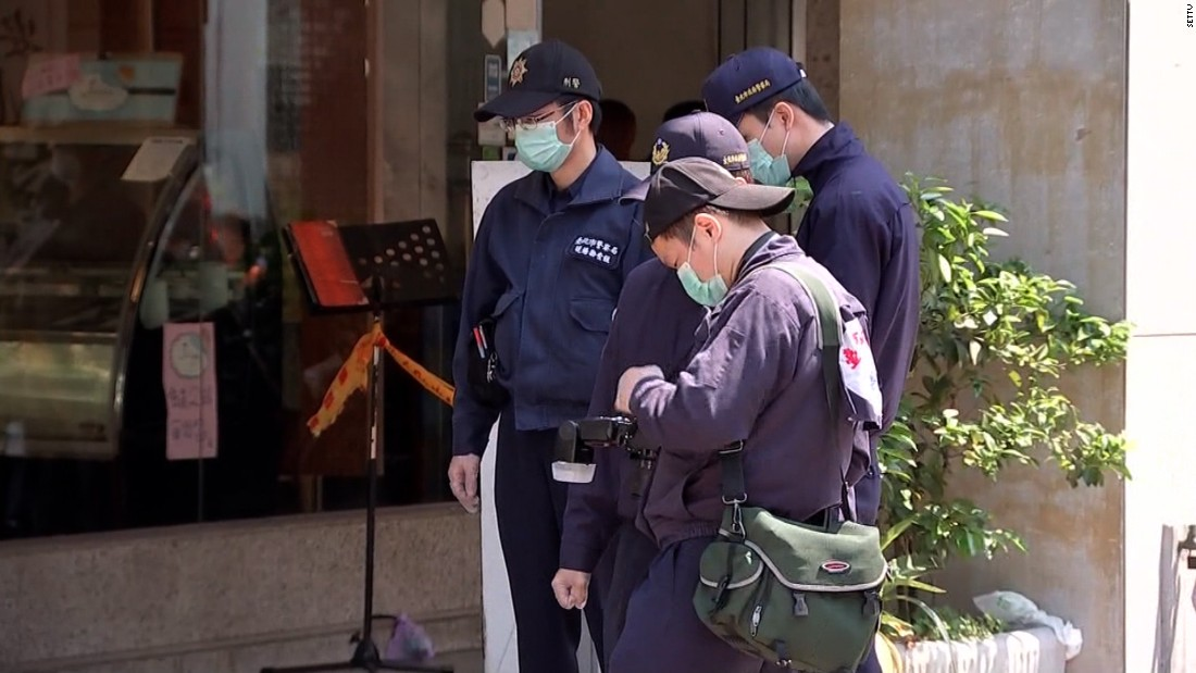 4-year-old girl beheaded in Taiwan knife attack