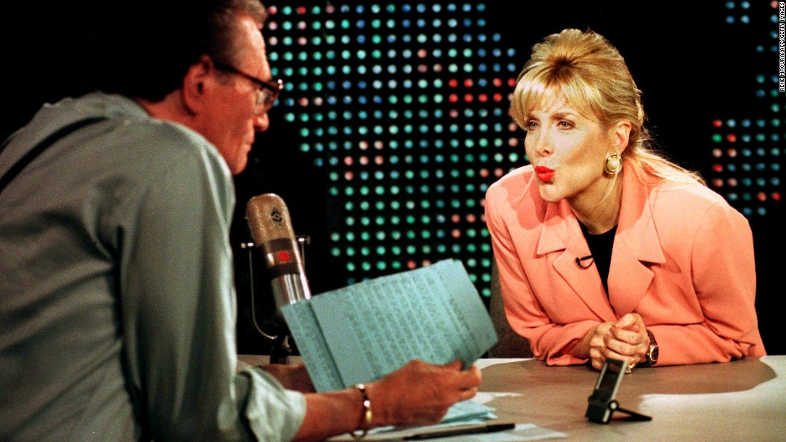 During the 1992 campaign, an Arkansas state government worker named Gennifer Flowers told reporters she had a long-time affair with Democratic candidate Bill Clinton. Clinton aggressively denied Flowers' allegation and went on to defeat President George H.W. Bush in November. Click through the gallery for more campaign scandals throughout history: