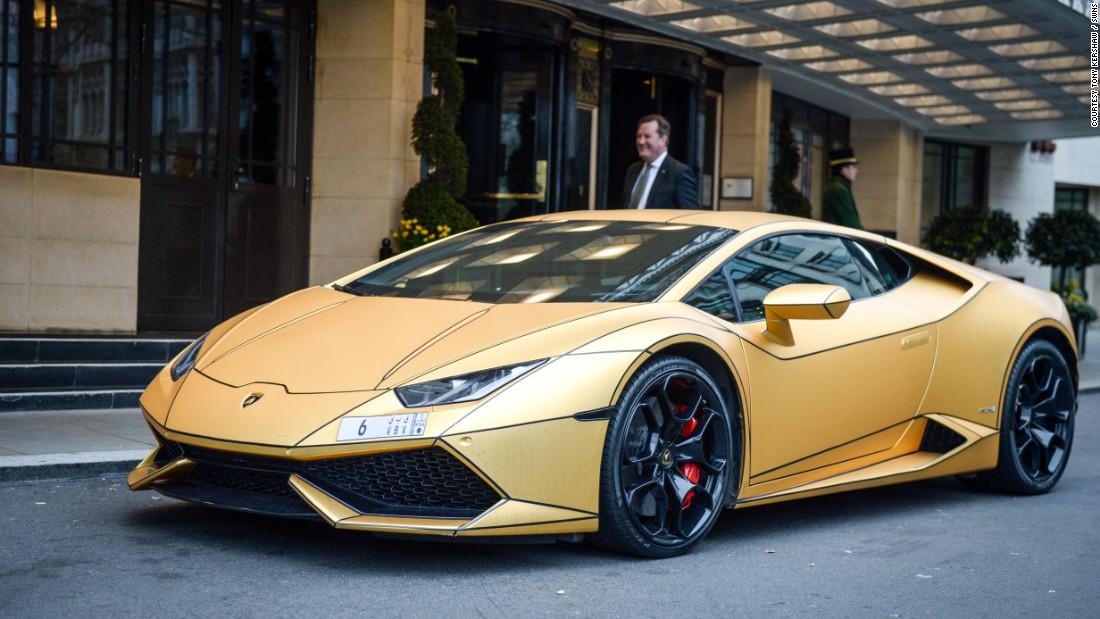 Super-rich Saudi's gold cars hit London
