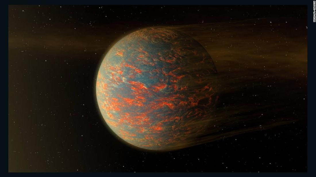 'Super-Earth' is super hot, NASA telescope discovers