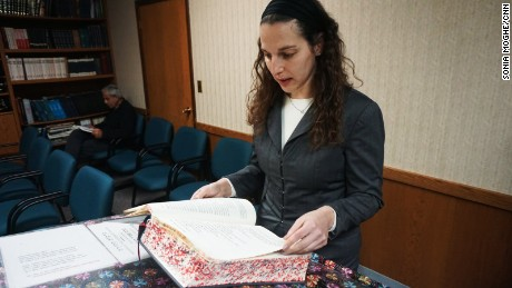 "Kagedan says she is certain ""only positive outcomes will emerge  from having men and women working in the rabbinate and being accessible to the community."""