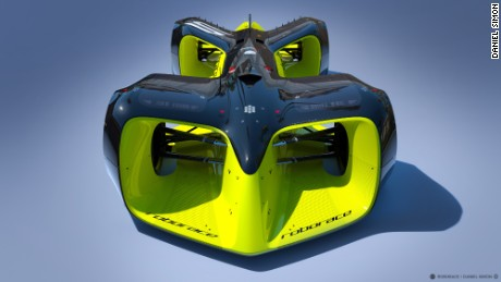 """Roborace is as much about competition as it is entertainment,"" Simon said in a statement."