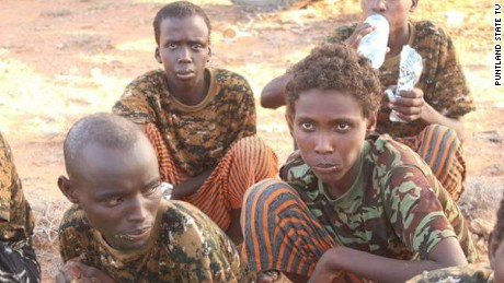 Young fighters talk about taking part in Al-Shabab attacks.