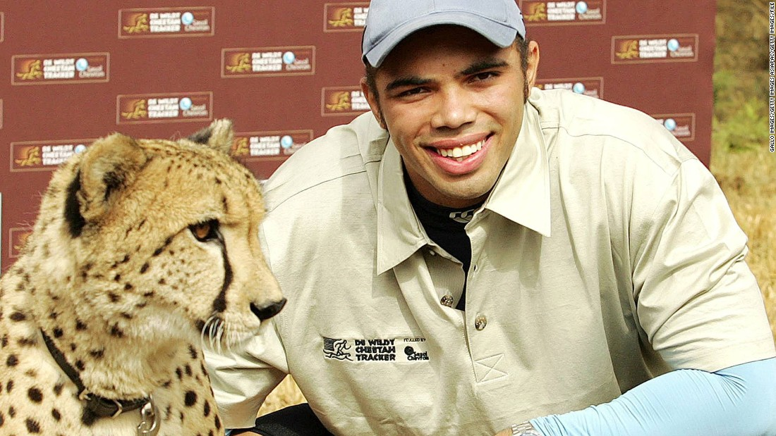 One of rugby's fastest players, Habana famously raced a cheetah in 2007 to raise wildlife awareness. In 2013, he took on an A380 super-jumbo at a UK airport runway.