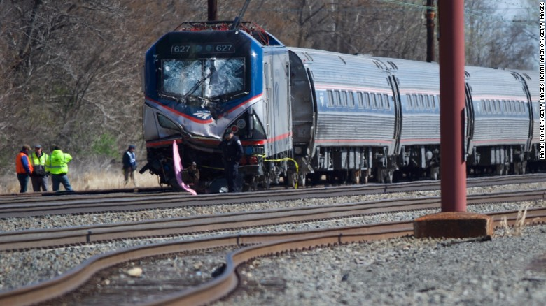 Two dead in Amtrak train derailment