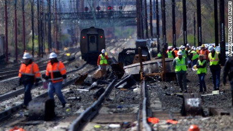 Two workers killed in Amtrak train crash