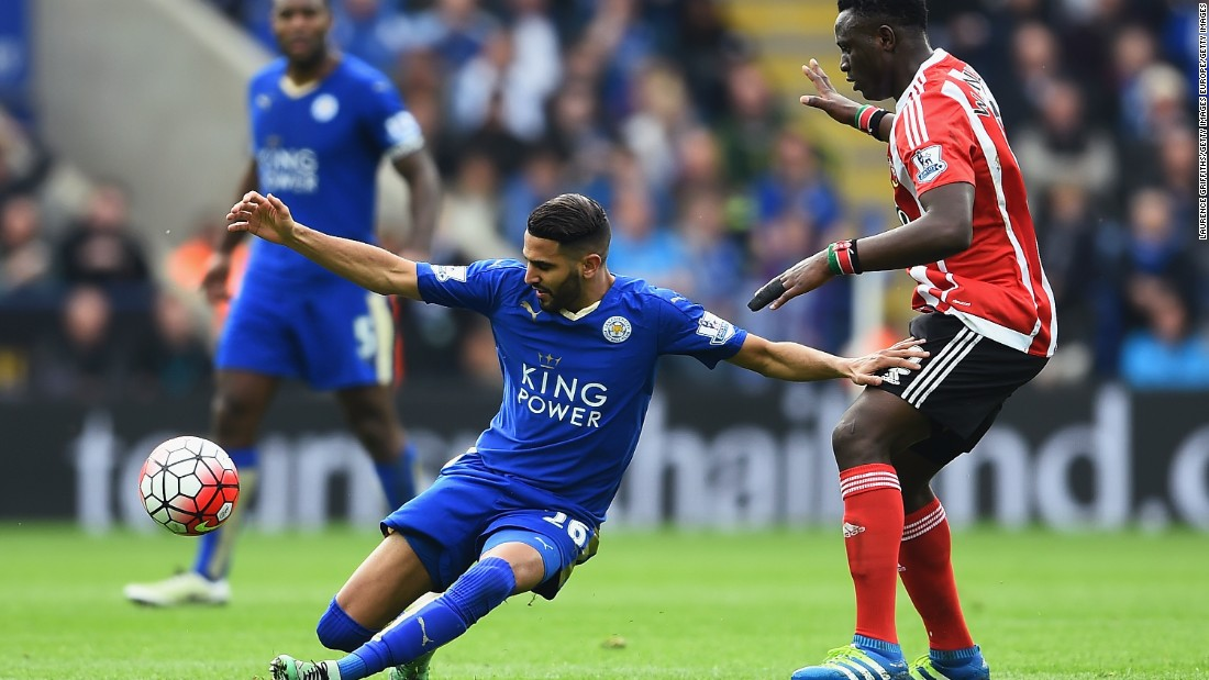 Morgan's goal proved the difference between the sides and increased Leicester's lead atop the EPL table to seven points.