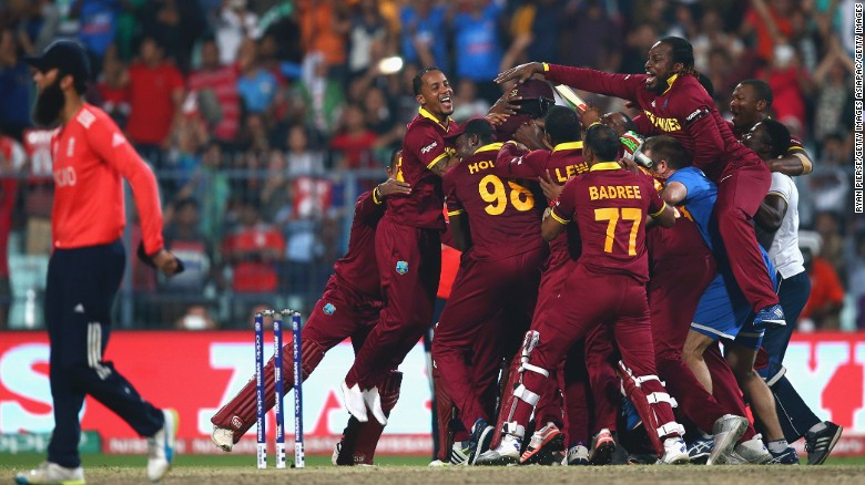 Carlos Brathwaite talks about the amazing last over