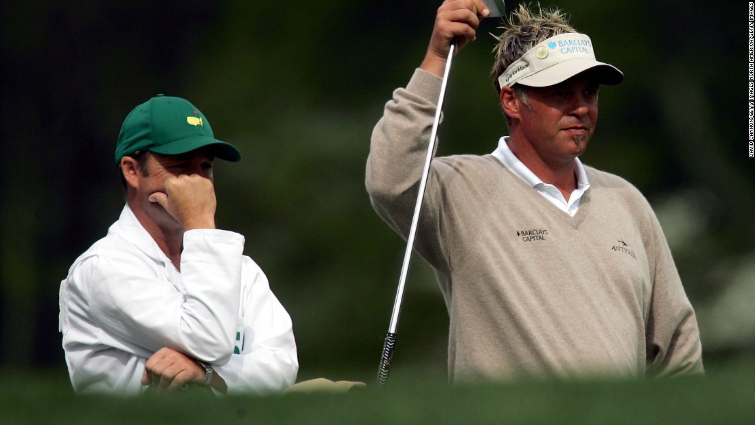 Foster has also caddied for Northern Ireland's Darren Clarke at Augusta.