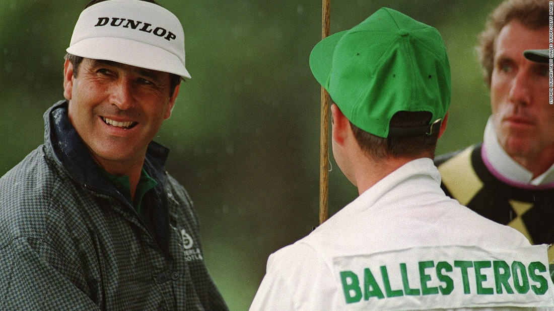 "Foster also caddied for the late, great Seve Ballesteros around Augusta National's hallowed turf. Ultimately, they would fall out but Foster was honored to work with the Spaniard. ""It was a fantastic experience [working for Seve] and something I'll cherish for the rest of my life. I owe him a lot and I will be eternally grateful,"" Foster says."