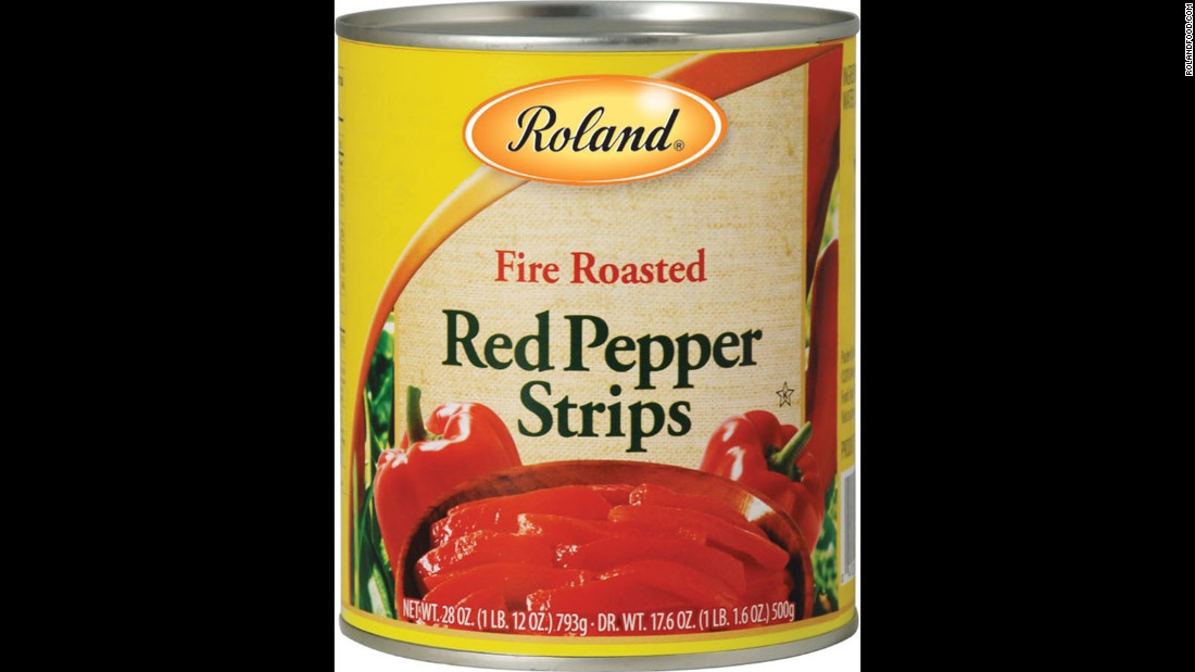 "Roland Foods issued an unrelated recall of fire-roasted red pepper strips, also because of possible glass fragments, the <a href=""http://www.fda.gov/Safety/Recalls/ucm493852.htm"" target=""_blank"">company said in a statement.</a>"