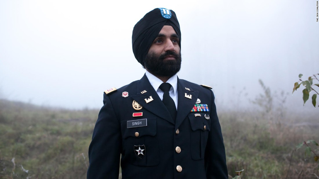 Sikh Army captain allowed to wear beard and turban in uniform