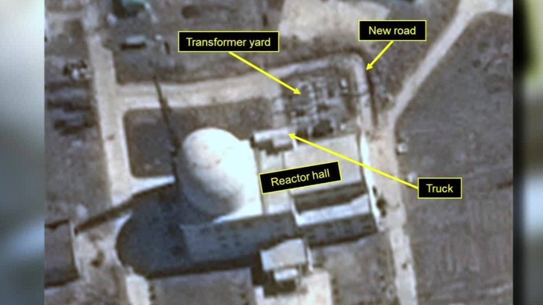38 North: 'Suspicious activity' noted at North Korean nuclear site