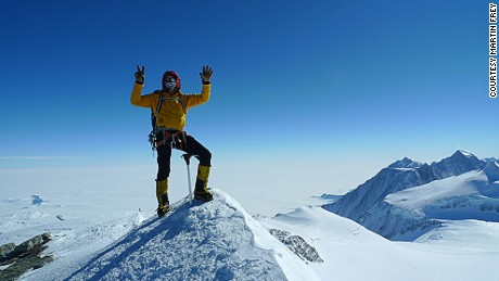 Martin Frey: Is this the world's most adventurous man?
