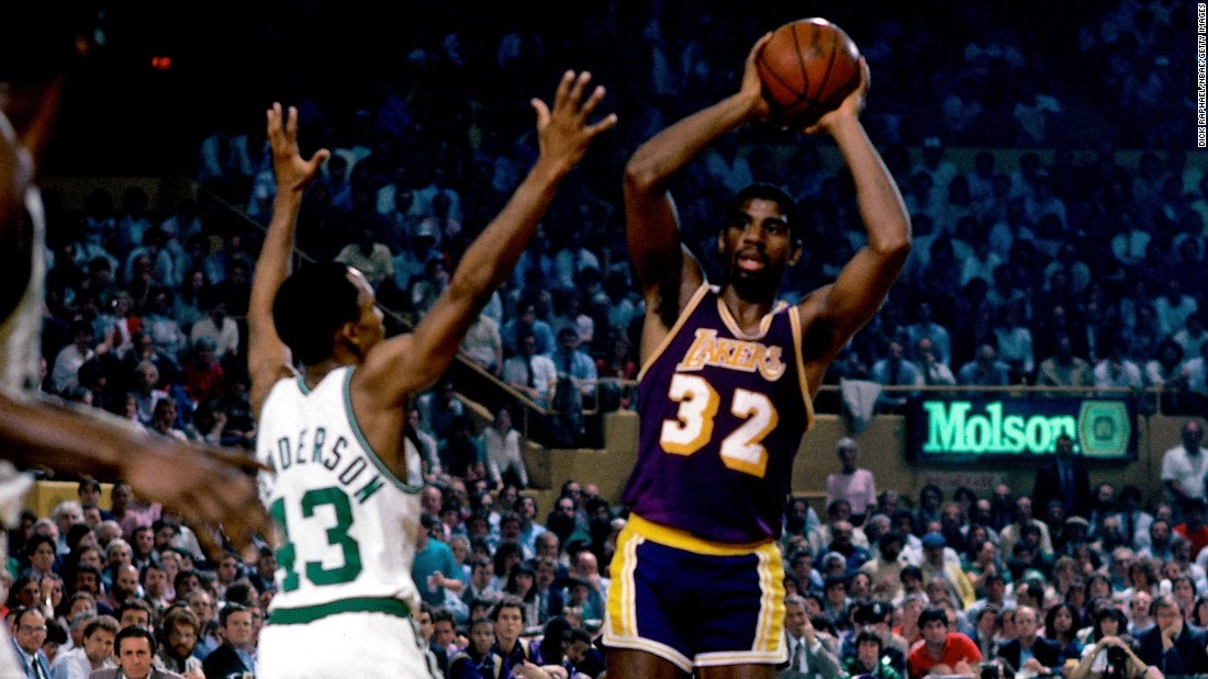 <strong>Most assists in an NBA Finals game:</strong> The Lakers' Magic Johnson had 21 assists in Game 3 of the 1984 NBA Finals. Boston won the Finals that year, but Johnson and the Lakers got their revenge one year later.