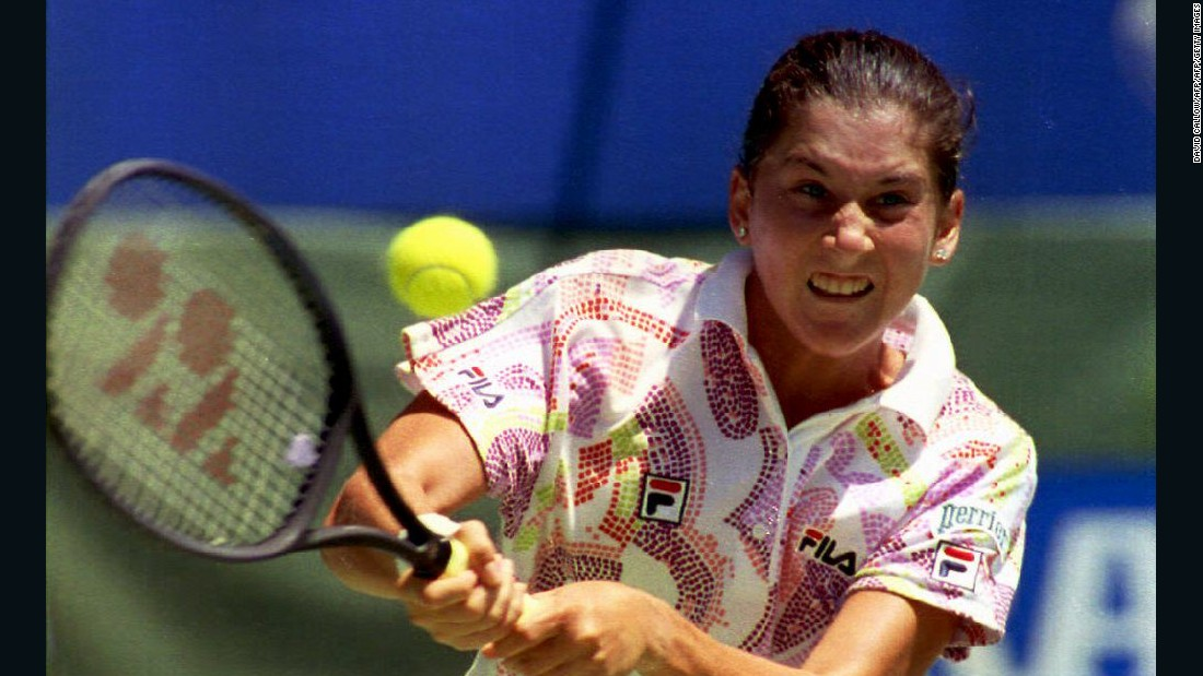 Monica Seles won nine grand slams between 1990-1996, reached No. 1 in the rankings and also helped the U.S. win the Fed Cup three times.