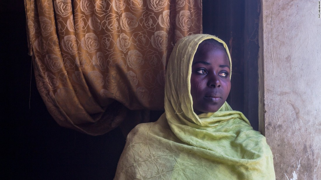 """The Boko Haram terrorists went away with two of my siblings and my brother was shot on our way to Maiduguri. Even after finding safety here, we have lots of problems. Food, rent. We've too (many) issues. And there's not much trade. I sew caps but sometimes you can't even buy the thread because there's no money. The government and NGO food distribution is yet to reach our neighborhood."""