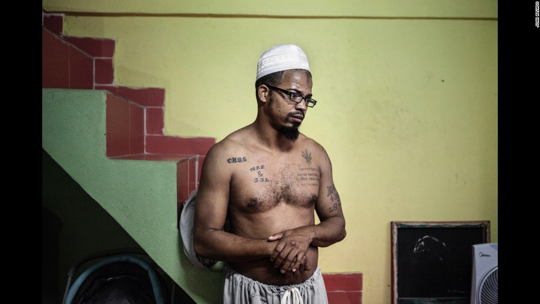 Ali moved to Havana five years ago and got tattoos while he was a musician playing in reggae bands. He converted to Islam in 2014.