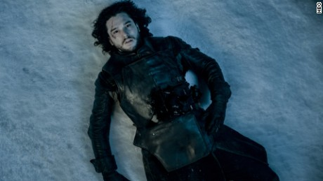 Harington's character Jon Snow was brought back to life during season 6.