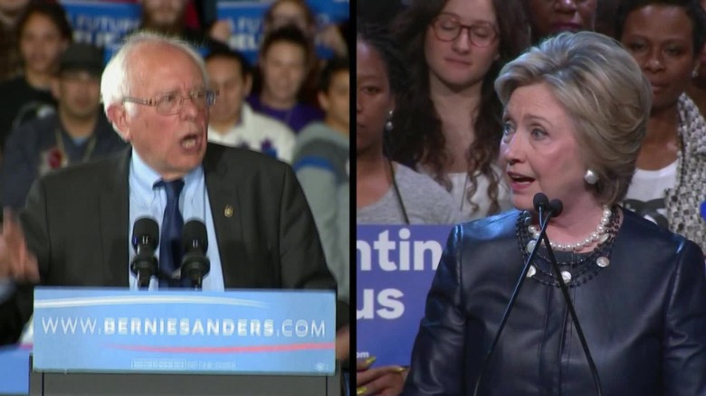 Clinton, Sanders score key endorsements before N.Y. primary
