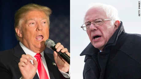 Sanders returns to New York roots, says he can defeat Trump