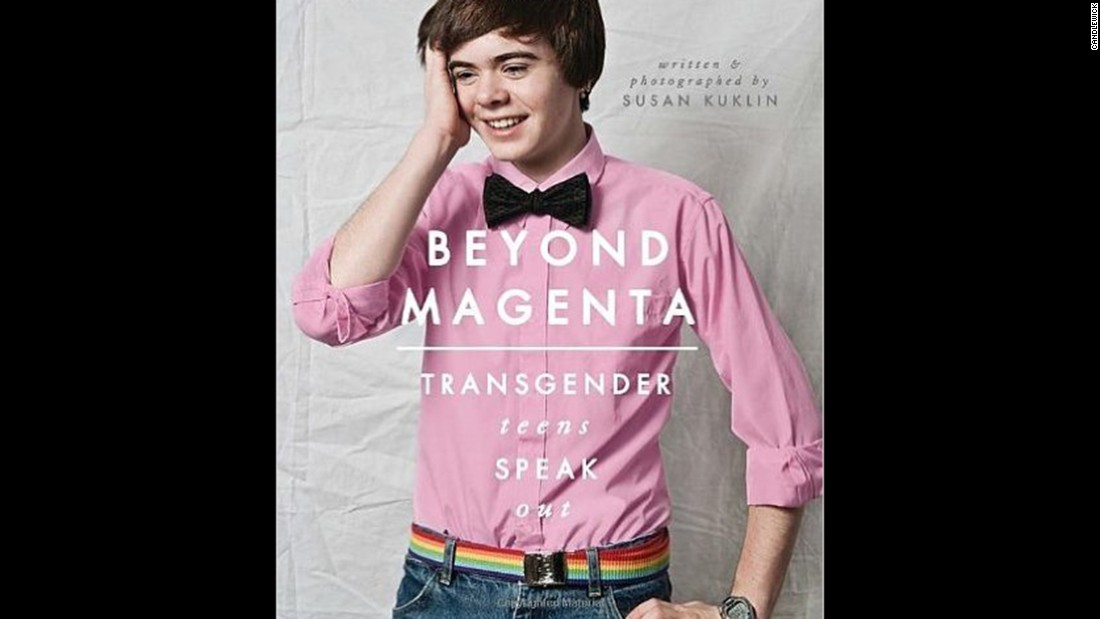 """Beyond Magenta: Transgender Teens Speak Out,"" by Susan Kuklin, was considered by protesters to be anti-family. They also challenged its language and consideration of homosexuality."