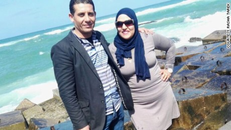 Egyptian authorities not only killed Rasha Tarek's husband, but defamed his memory, she charges.