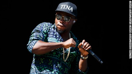 CHELMSFORD, ENGLAND - AUGUST 22:  Fuse ODG performs on Day 1 of the V Festival at Hylands Park on August 22, 2015 in Chelmsford, England.  (Photo by Tristan Fewings/Getty Images)